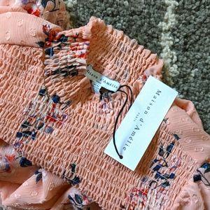 NWT Maison d' Amelie blouse sz: XS